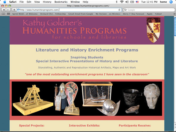 Kathy Goldner's Humanities Programs