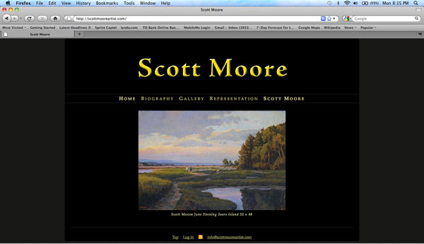 image of Scott Moore homepage